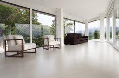 Interiore di una casa moderna Fotografie Stock