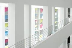 Interiore di una costruzione moderna Immagini Stock Libere da Diritti