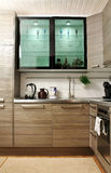 Interiore di una cucina Fotografie Stock