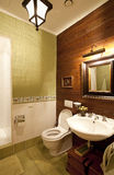 Interiore di una stanza da bagno Immagini Stock