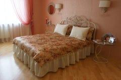 Interiore di una stanza di sonno Fotografie Stock