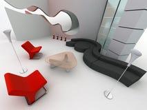 Interiore domestico illustrazione vettoriale