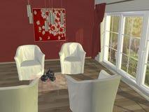 Interiore domestico Immagine Stock Libera da Diritti