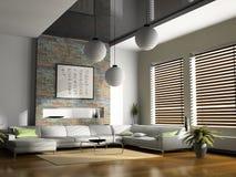Interiore domestico Immagini Stock