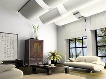 Interiore domestico Fotografia Stock Libera da Diritti