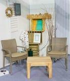 Interiore domestico accogliente Fotografie Stock Libere da Diritti