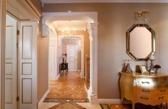 Interiore domestico classico. Fotografie Stock Libere da Diritti