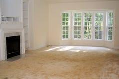Interiore domestico del salone Fotografia Stock Libera da Diritti