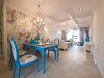 Interiore domestico di lusso immagini stock libere da diritti