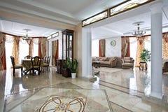 Interiore domestico di lusso Immagine Stock Libera da Diritti