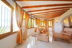 Interiore domestico di lusso fotografie stock libere da diritti