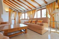 Interiore domestico di lusso Fotografia Stock Libera da Diritti