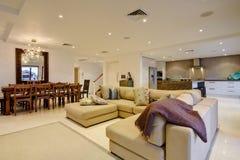 Interiore domestico di lusso Fotografia Stock
