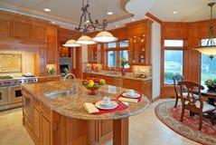 Interiore domestico lussuoso Fotografie Stock
