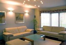 Interiore domestico moderno. Fotografia Stock