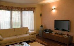Interiore domestico moderno. Fotografia Stock Libera da Diritti