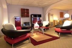 Interiore domestico moderno Fotografie Stock Libere da Diritti