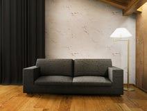 Interiore domestico moderno Immagine Stock Libera da Diritti