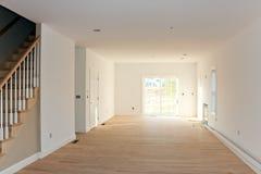 Interiore domestico non finito vuoto Fotografie Stock