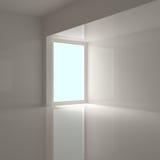 Interiore domestico vuoto Fotografia Stock Libera da Diritti