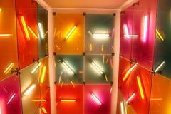 Interiore fluorescente Fotografia Stock Libera da Diritti