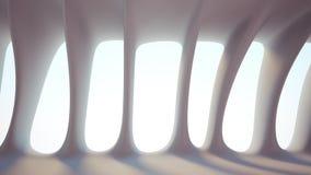 Interiore futuristico immagini stock