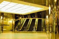 Interiore giallo Fotografia Stock Libera da Diritti