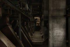 Interiore industriale Fotografie Stock Libere da Diritti