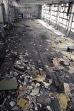 Interiore industriale abbandonato Fotografia Stock Libera da Diritti