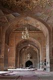 Interiore khan di Masjid Wazir Fotografia Stock Libera da Diritti