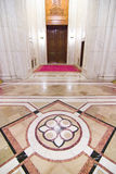 Interiore lussuoso con marmo Fotografie Stock Libere da Diritti