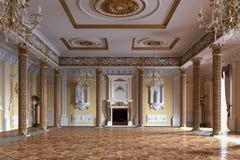 Interiore lussuoso del palazzo rappresentazione 3d fotografia stock libera da diritti