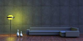 Interiore minimalista royalty illustrazione gratis