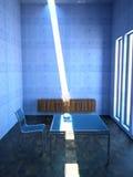 Interiore minimalista Fotografie Stock Libere da Diritti