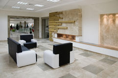 Interiore minimalista Fotografia Stock Libera da Diritti