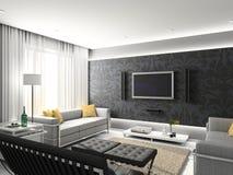 Interiore moderno. Immagine Stock