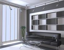 Interiore moderno Fotografia Stock Libera da Diritti