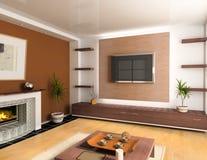 Interiore moderno Fotografie Stock