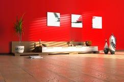Interiore moderno immagini stock libere da diritti