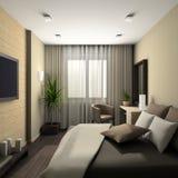 Interiore moderno. 3D rendono Fotografie Stock