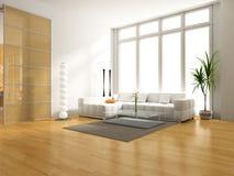 Interiore moderno Fotografie Stock Libere da Diritti