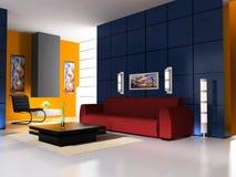Interiore moderno Immagine Stock Libera da Diritti
