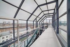 Interiore moderno Architettura moderna Fotografie Stock