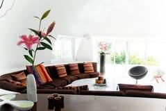 Interiore moderno chiaro Fotografie Stock
