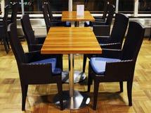 Interiore moderno del caffè Fotografia Stock