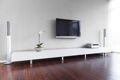 Interiore moderno del salone Immagini Stock Libere da Diritti