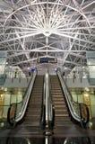 Interiore moderno dell'aeroporto Fotografia Stock Libera da Diritti