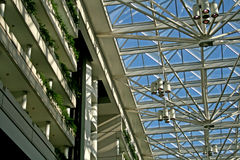 Interiore moderno dell'edificio per uffici Immagine Stock