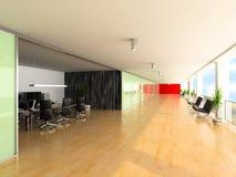 Interiore moderno dell'ufficio Immagine Stock