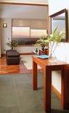 Interiore moderno della casa Fotografia Stock